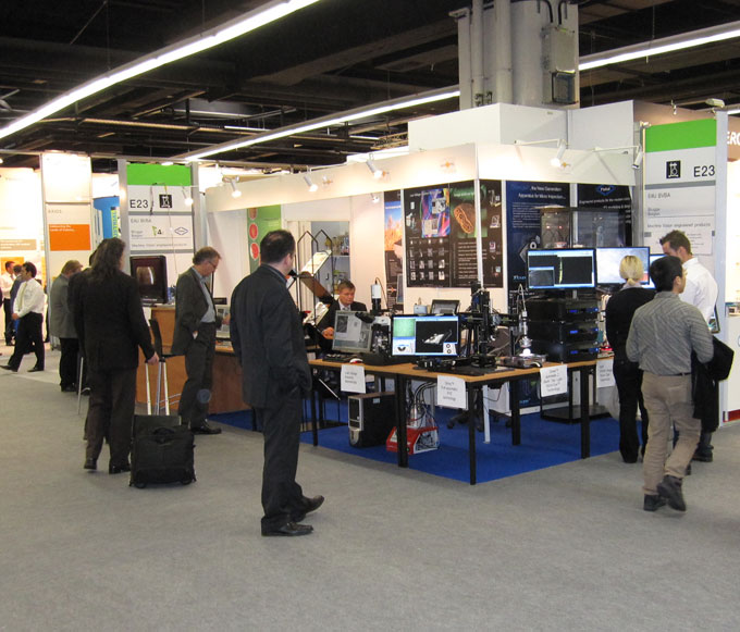 Microptik exhibition stands